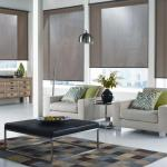 Designer Roller Blinds Family Room