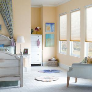 Cellular Shades Bedroom
