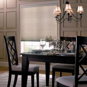 Cellular Shades In The Dinning Room