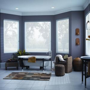 Sheer Blinds Bathroom