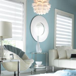 Sheer Blinds In The Living Room