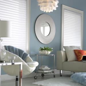 Sheer Blinds With Mirror