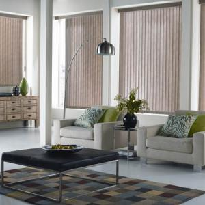 Vertical Blinds On 2 Walls
