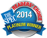 The Spec Readers' Choice Award 2014